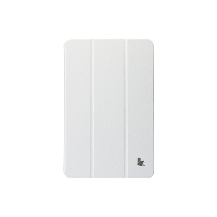 JisonCase Premium Leatherette для Samsung Galaxy Tab 3 8.0 White