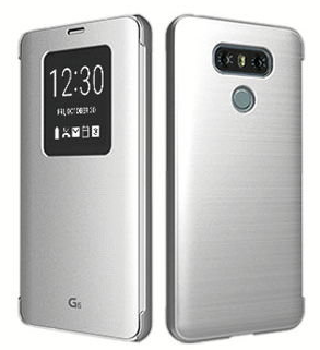 -книжка Voia для LG G6 H870DS Silver