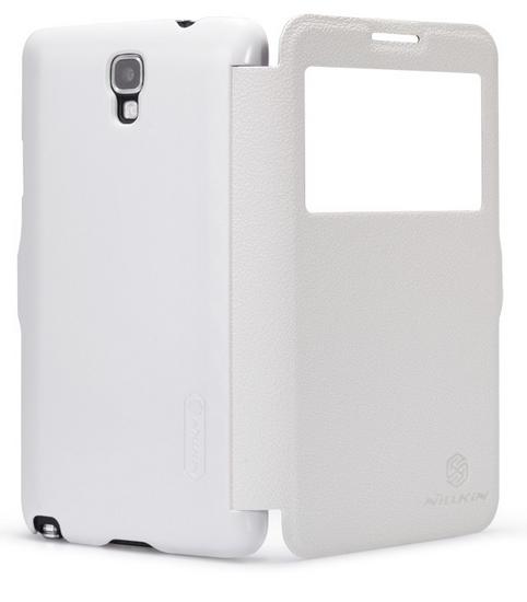 Nillkin Fresh Series Leather Case для Samsung Note 3 Neo N7505 White
