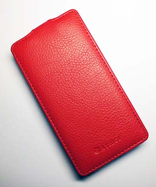 Чехол Red Line Ibox Premium для Sony Xperia Z1 Compact Red