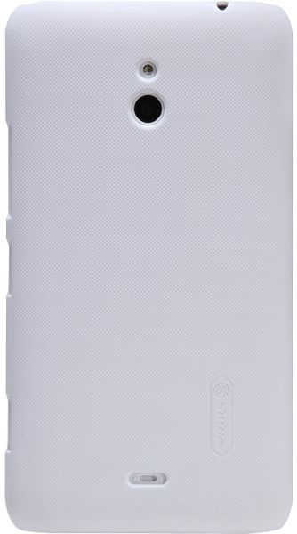 Чехол Nillkin Super Frosted Shield  для Nokia Lumia 1320 White