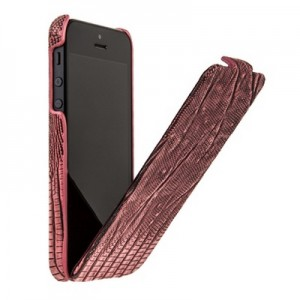 Чехол BOROFONE Lizard flip Leather Case for IPhone 5 Red