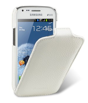 Чехол Melkco Leather Case for Samsung Galaxy S Duos S7562 - Jacka Type White