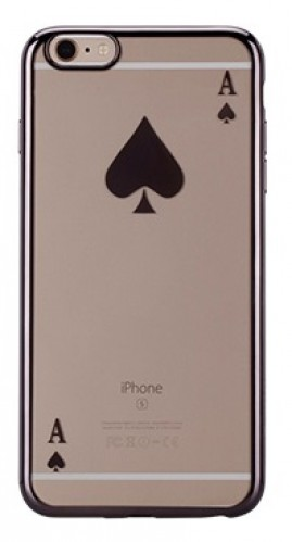 Накладка Momax Poker Case для Iphone 6/6S 4.7 Grey
