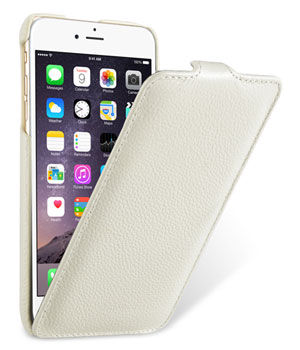 Melkco Leather Case for Apple iPhone 6 Plus 5.5 White