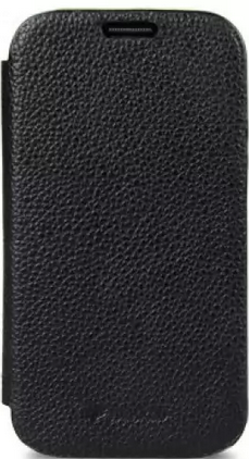 Чехол Melkco Leather Case для Samsung Galaxy S 4 I9500 Diary Book Type Black