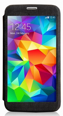 Чехол Devia Panoramic Series для Samsung Galaxy S5 G900 Black
