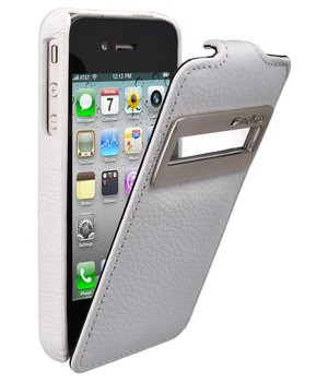 Чехол Melkco  Apple IPhone 4 White
