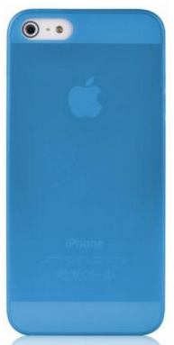 Накладка BASEUS Organdy Case 0.4 mm для Apple Iphone 5/5S Blue