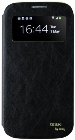 Чехол Uniq для Galaxy S4 GS4GAR-MUSBLK Muse Black Onyx