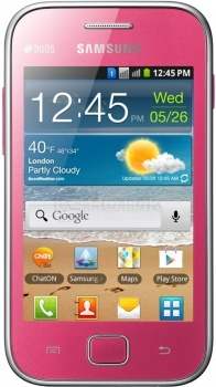 Samsung S6802 Galaxy Ace DUOS Pink