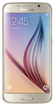 Samsung G920F Galaxy S6 32Gb LTE Gold РСТ