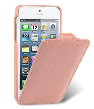 Чехол Melkco Leather Case for Apple iPhone 5 - Jacka Type Pink