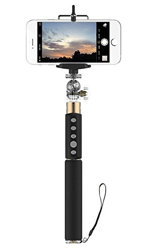 Монопод для селфи (палка для селфи) iHave Smart Selfie Shutter & Stick Gold