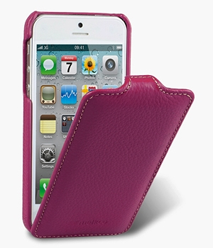 Чехол Melkco Leather Case for Apple iPhone 5 - Jacka Type Purple