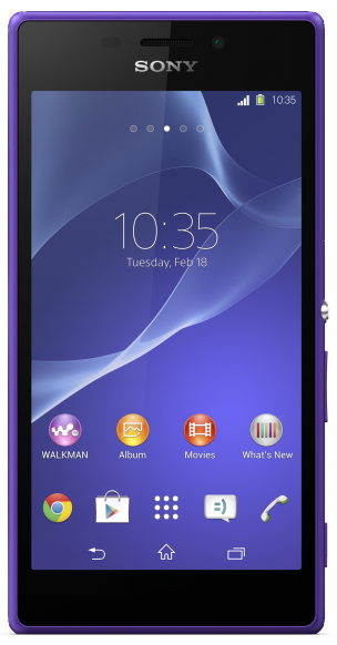 Sony Xperia M2 D2305 3G Purple
