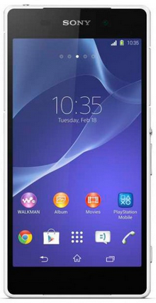 Sony Xperia Z2 D6503 White РСТ