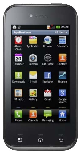 LG Optimus Sol E730  Black