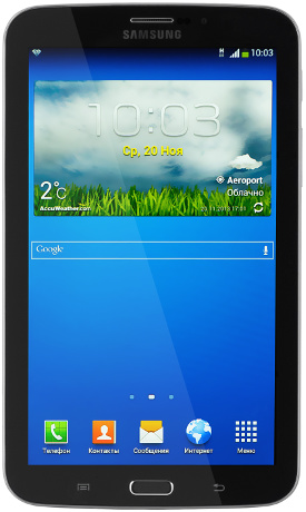 Samsung T211 Galaxy Tab 3 7.0 + 3G 16Gb Black