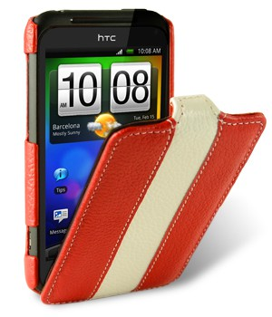 Чехол Melkco Leather Case for HTC Incredible S/Droid Incredible 2/S710d Limited Edition Jacka Type Red/White LC