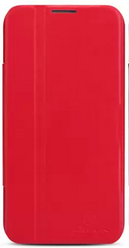 Чехол Nillkin V series leather case  для LG Optimus G Pro / E988 Red