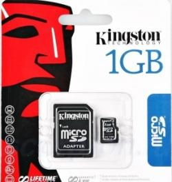 Карта памяти Kingston 1GB microSD (TransFlash)