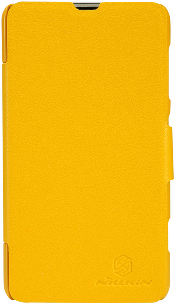 Чехол Nillkin Fresh Series Leather Case  для Nokia Lumia 625 Yellow