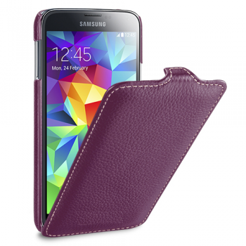 Чехол Melkco Leather Case для Samsung Galaxy S5 G900f  Jacka Type Purple
