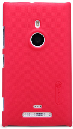 Чехол Nillkin Super Frosted Shield  для Nokia Lumia 925 Red
