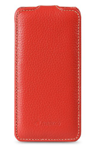 Чехол Melkco Leather Case for Sony Xperia ZR Jacka Type (Red LC)