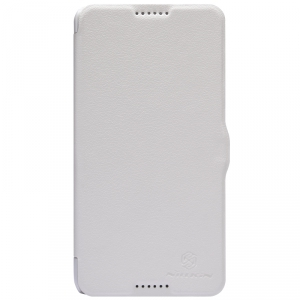 Чехол Nillkin Fresh series leather case  для HTC Desire 816 White