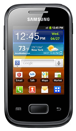 Samsung S5301 Galaxy Pocket Plus Black