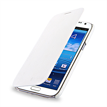 Чехол TETDED Premium Leather Case для Samsung Galaxy Note 2 N7100 / N7108 Dijon II: White