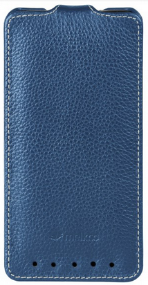 Чехол Melkco Leather Case для HTC One M8 Dark Blue
