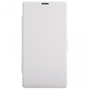 Чехол Nillkin Fresh Series Leather Case для Sony Xperia T3 D5103 White