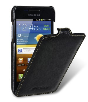 Чехол Melkco Leather Case for Samsung Galaxy S Advance I9070 Jacka Type (Black LC)