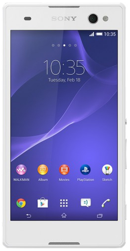Sony Xperia C3 D2533 LTE White РСТ