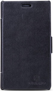 Чехол Nillkin V-series Leather case  для Nokia Lumia 925 Black