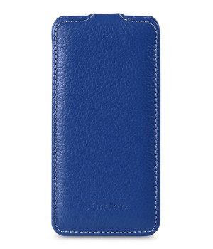 Чехол Melkco Leather Case для HTC One  Jacka Type Dark Blue LC