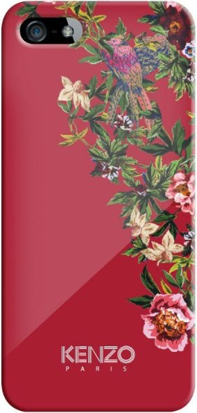 Накладка Kenzo iPhone 5/5S Glossy Exotic EXOTICIP5R Red
