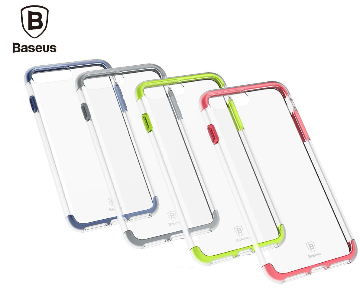 Baseus Armor Case TPU+TPE для Iphone 7 Plus Transparent/Black