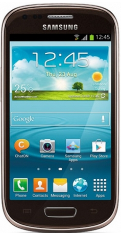 Samsung I8200 Galaxy S3 mini Value Edition 8Gb Brown