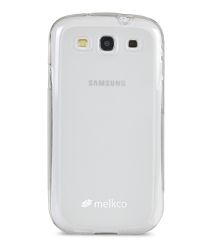 Накладка на заднюю часть Melkco Poly Jacket TPU Case для Samsung Galaxy SIII I9300 / I9308 Transparent Mat