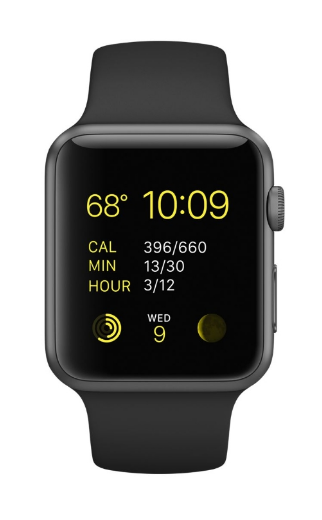 Apple Watch Sport 42mm with Sport Band MJ3T2 Grey