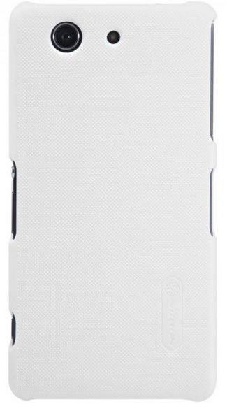 Чехол Nillkin Super Frosted Shield для Sony Xperia Z3 Compact D5803/D5833 White