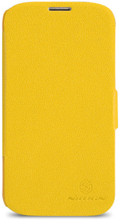 Чехол Nillkin Fresh series leather case  для Samsung Galaxy S5 G900F Yellow