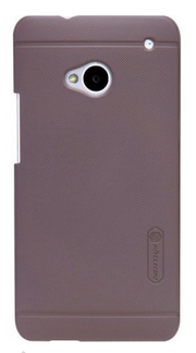 Чехол Nillkin Super Frosted Shield для HTC One Brown