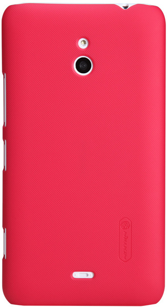 Чехол Nillkin Super Frosted Shield  для Nokia Lumia 1320 Red