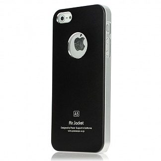 Чехол Power Support Air Jacket for iPhone 5 / 5S Black