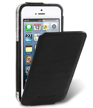 Чехол Melkco Leather Case for Apple iPhone 5 - Diary Flip Type Black